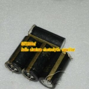 63v12000uf Aluminum Electrolytic Capacitors Hifi Audio Filter Capacitor