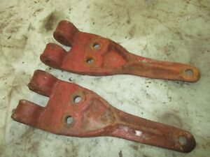 Ih Farmall 450 400 Front Mout Cultivator Brackets Pair 518261r1 Antique Tractor