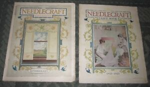 2 September 1922 And 1922 23 Gift Book Publications Needlecraft