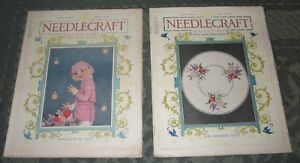 2 November 1921 And December 1921 Publications Needlecraft