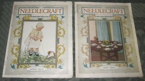 2 April 1922 And May 1922 Publications Needlecraft