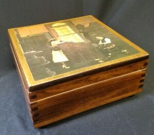 American Music Box Co Reuge Swiss Movement Plays Theme From Love Story