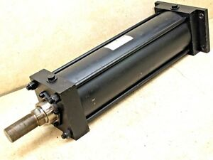Schrader Bellows 5 Bore X 15 Stroke Pneumatic Cylinder 250 Psi
