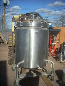 Cherry Burrell 200 Gallon Sanitary Reactor 200 Gallon