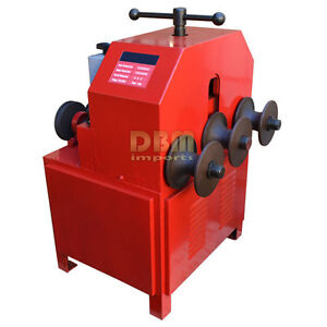 Electric Pipe Tube Bender Multi Function 5 8 3 Round 5 8 2 Square Dies