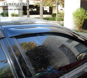 Jdm In Channel Vent Window Visor Sunroof T2 5pc Dodge Charger 06 10 4 Dr Sxt