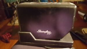 Swingline 270 Heavy Duty High Capacity Electric Stapler Works W Staples Parts