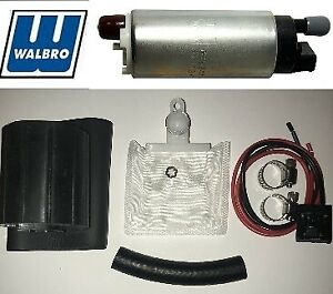 Walbro Gss342 Gss341 255lph High Psi Flow Fuel Pump Installation Kit