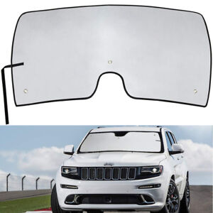 Reflective Window Windshield Sun Shade Visor Protect For Jeep Grand Cherokee Suv