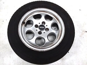 2002 2015 Mini Cooper R50 r59 Wheel Rim Tire 185 65 R15 Oem 7 9 32nds