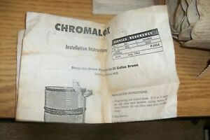 Chromalox Snap On Drum Heater For 55 Gallon Drum Pj404