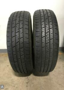 2x P225 65r17 Dean Road Control Touring A S 7 5 8 5 32nds Used Tires