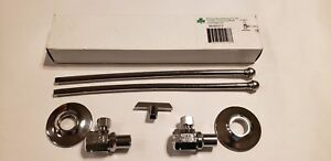 Qty 10 Mcguire Mfg Lav Supply Kit H2165lk 1 2 Ips X 3 8 Od Angle Stops