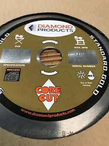 Diamond Products Core Cut 11968 16 inch By 0 125 By 1 inch