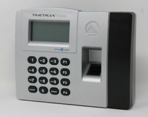 Pyramid Timetrax Elite Tteliteek Automated Biometric Fingerprint Time Clock