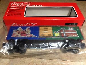 1994 K-Line K644705 Coca Cola Christmas Box Car