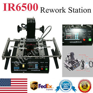 Ir6500 Bga Rework Station Infrared Soldering Welding For Xbox 360 Ps3 Laptop Ups