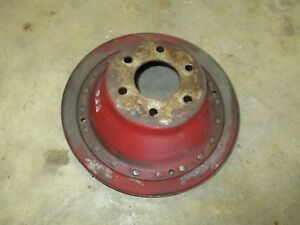 Ih International Farmall 856 1205 1256 1456 Diesel Fan Pulley Dt 407 Engine