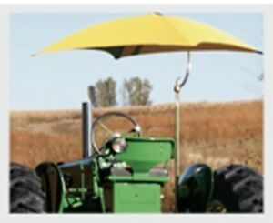 Snowco Yellow Tractor Umbrella Canopy Canvas Cover John Deere Massey Ford Case