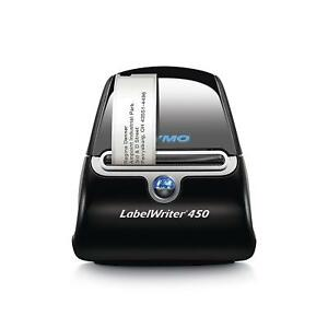 Dymo Labelwriter 450 Direct Thermal Printer Monochrome Label Print 1752264