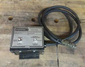 Enerpac Ic 1 1 Electric Valve Control Center Control Station