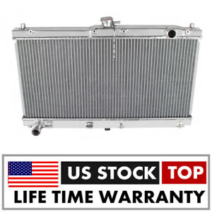 Full Aluminum Radiator For Mazda Miata Mx5 Man 1999 2005 1 8l Mt Free Ship New