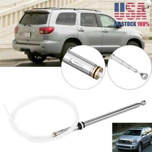 Power Antenna Aerial Am Fm Radio Replacement Mast Cable For Toyota Sequoia 01 07