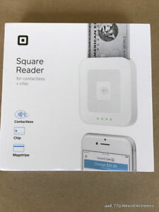 New Square Mobile Credit Card Reader Contactless Tap Swipe Chip Nfc Emv