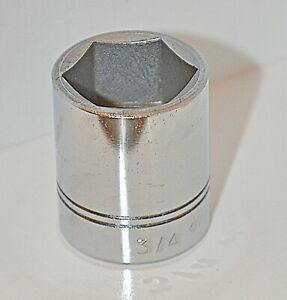 3 4 Inch Williams Usa 3 8 Inch Drive 6 Point Standard Chrome Socket Ships Free