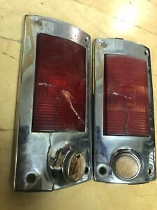 Willys Jeep Wagon Tail Lights Set