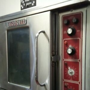 2 Blodgett 220v Electric Commercial Convection Oven Bakery Pizza