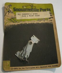 Spark Plug Point Gap Gauge Llp Brand 851 Snowmobile Atv Small Engine Nos