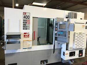 Haas Ec 400 12k Rpm 40 Tools Chip Conveyor 16 Mb Memory 4th Axis Remote