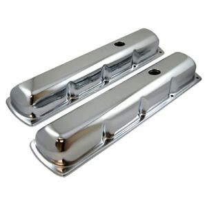 Racing Power Company R9395 Chrome Steel Valve Cover For 59 79 Olds 330 455 Tall