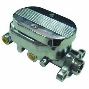 Racing Power Company R3509 Chrome Alum Master Cylinder Smooth 1 1 8in Bore