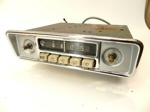 Original Blaupunkt Am Radio 1959 1965 Porsche 356 A B C Vw Mercedes Benz 190sl