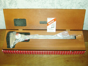 Starrett 12 Inch Dial Caliper No 120 W Box American Made New Old Stock