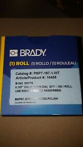 Brady Pspt 187 1 wt Wire Labels Lot Of 5 Boxes