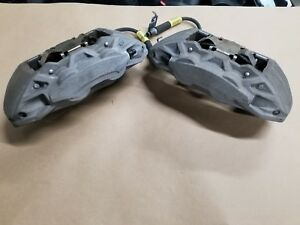 2015 2017 Ford Mustang Gt 5 0 Front Brakes And Calipers 38k Oem