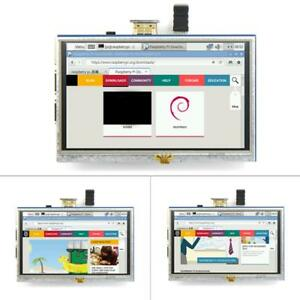 Lcd Display 5 800x480 Touch Screen Monitor Hdmi Module For Raspberry Pi 1 2 3