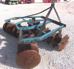 Used King Kutter 6 Ft 3 Pt Lift Disc Harrow we Can Ship Cheap And Fast