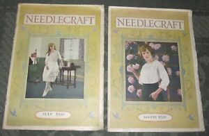 2 July 1920 And August 1920 Publications Needlecraft