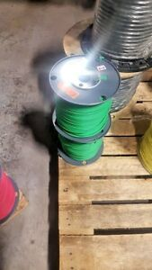 1000 Electrical Wire Rw90 Xlpe 12awg Solid Copper 600v Color Green free Ship