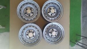 1 Gmc chevy Truck van 15x6 5 5 Lug Rally Wheel rim