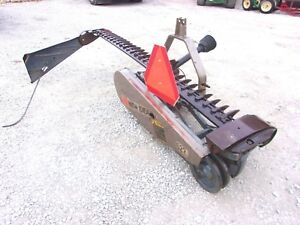 New Idea 522 Belt Type Sickle Mower 7 Ft 3 Point we Ship Real Cheap