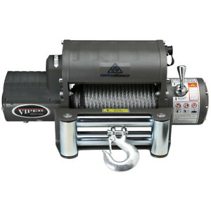 Viper 12 000 Lb Recovery Winch With 85 Ft Of Steel Rope Jeep Truck 4x4 12000