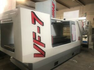 1997 Haas Vf 7b Vmc Chip Auger P cool 4axis Ready
