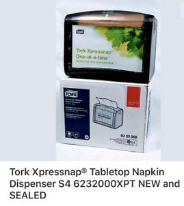 Tork Xpressnap Tabletop Napkin Dispenser S4 6232000xpt New And Sealed 2 Availab