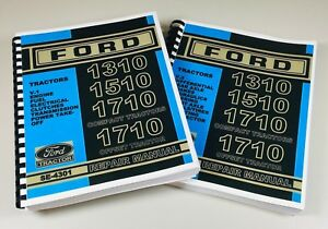 Ford 1310 1510 1710 Compact 1710 Offset Tractor Service Repair Manual Se 4301