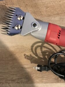 Farm Supplies Electric Sheep Shears Goat Clippers Animal Fur Shave Grooming 500w